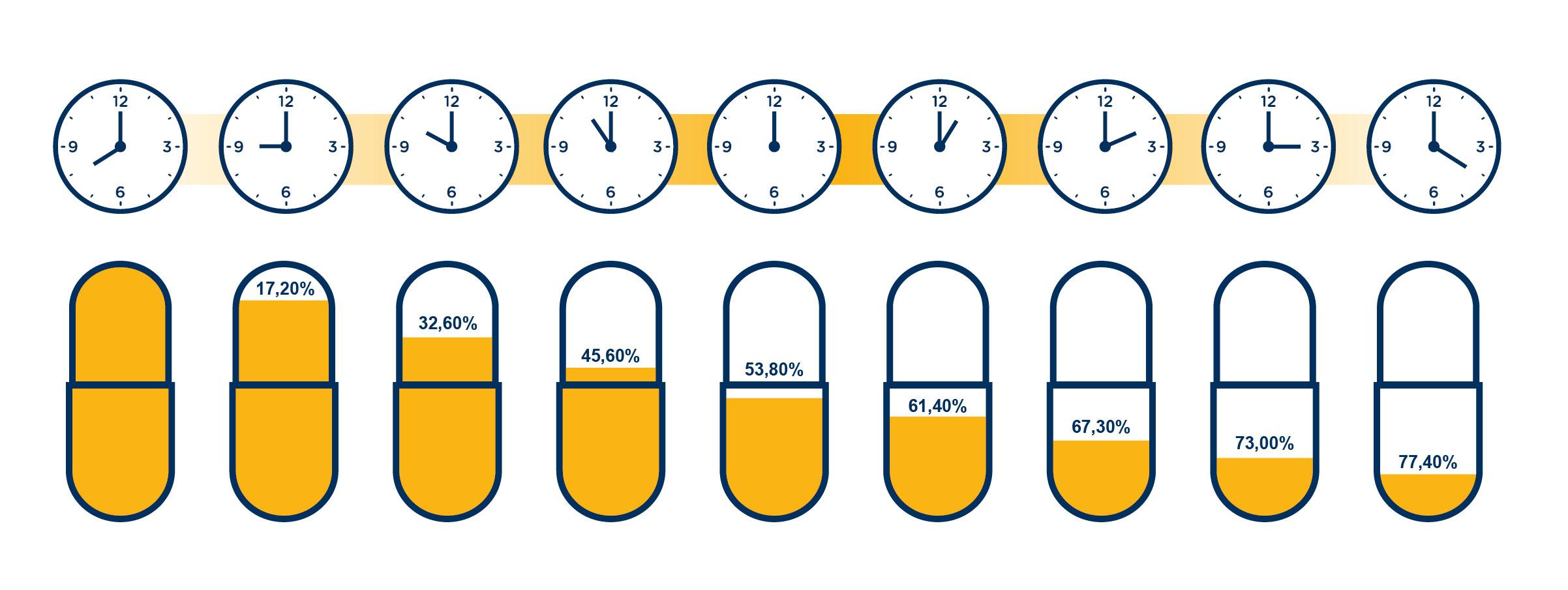 Vitalstofffreisetzung der Zeitkapsel