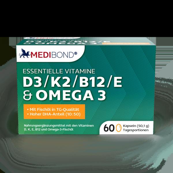 D3 / K2 / B12 / E & OMEGA 3