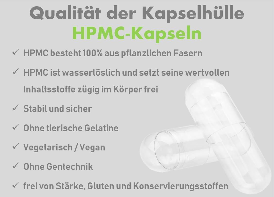 Galenik HPMC pflanzliche Kapselhülle